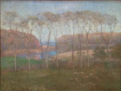 "Edith Prellwitz, ""Entrance to Peconic Bay,"" 1902. Oil on canvas."