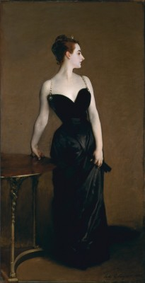 Madame X (Mme. Pierre Gautreau), 1884. Oil on canvas, 82 1/8 x 43 1/4 inches.