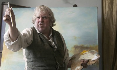 Timothy Spall as J.M.W. Turner late in life.