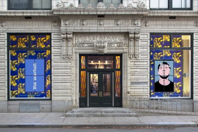 Entrance to the Andy Warhol Museum, Pittsburgh.