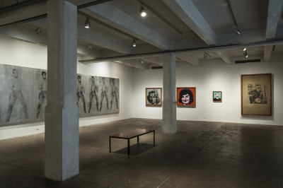 The main gallery on the museum's sixth floor.
