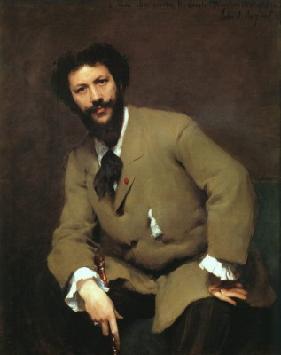 Carolus-Duran, 1879. Oil on canvas, 46 x 37 3/4 inches.