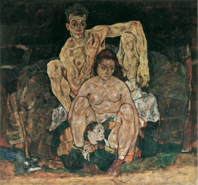 """The Family,"" 1918. Oil on canvas."