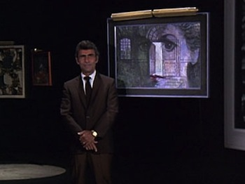 "A still from the first season of Rod Serling's ""Night Gallery."""