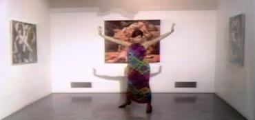 "Barbra Streisand in ""Color Me Barbra,"" at the Philadelphia Museum of Art."