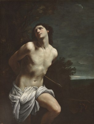 Guido Reni (1575–1642) Saint Sebastian, c. 1617–19 Oil on canvas, 66 7/8 x 52 3/8 in.