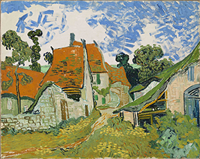 Vincent van Gogh (1853–1890) Street in Auvers-sur-Oise, 1890?. Oil on canvas, 29 × 36 3?8 in. Finnish National Gallery, Helsinki.
